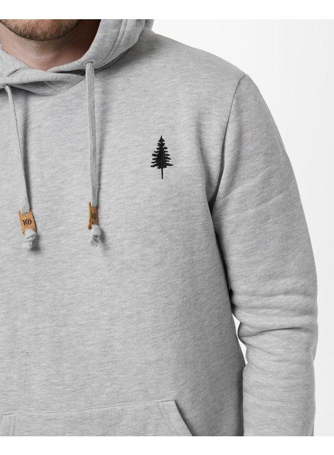 M TreeFleece Golden Spruce Hoodie - Grey Heather