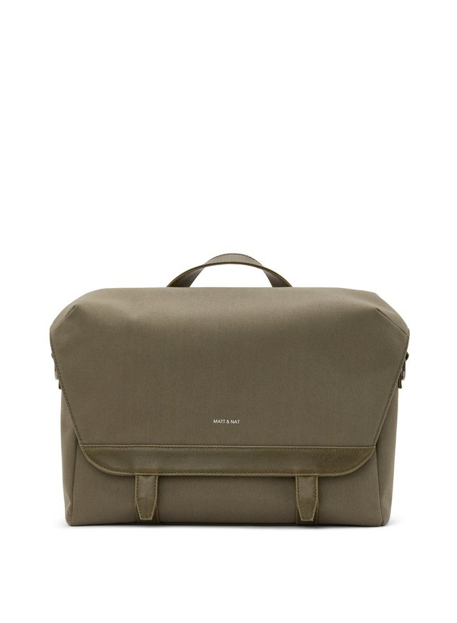 Martel Canvas Messenger - Olive