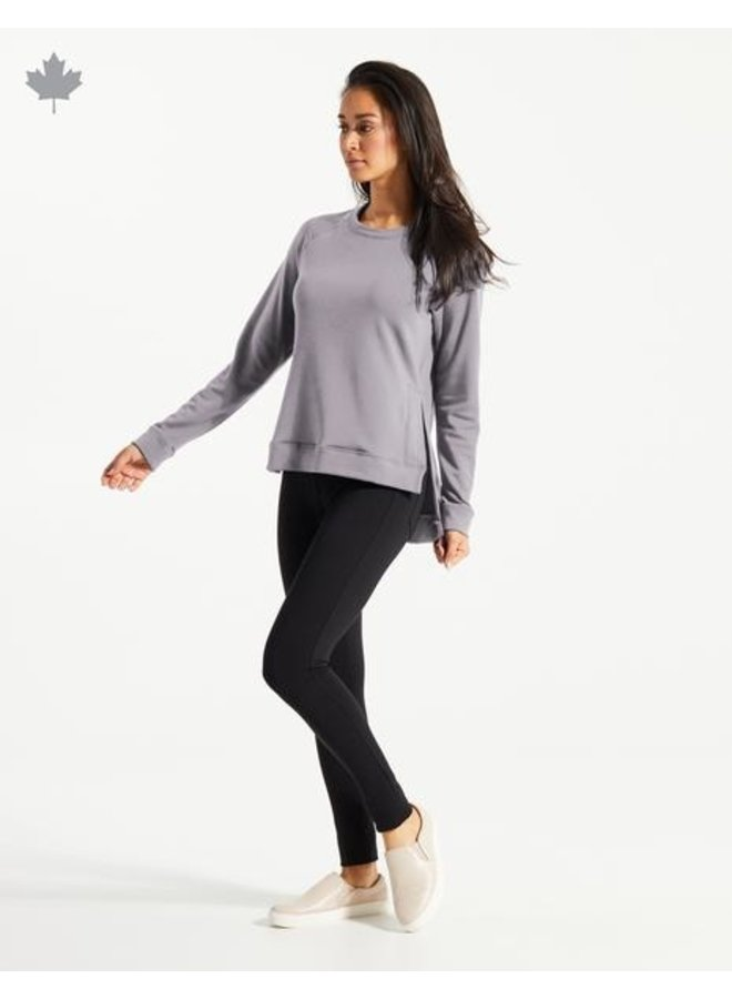 OMA Fleece Sweater - velvet grey