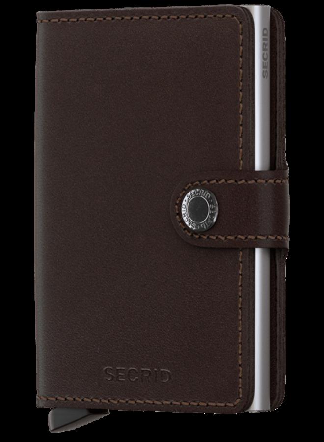Mini Wallet Original Dark Brown