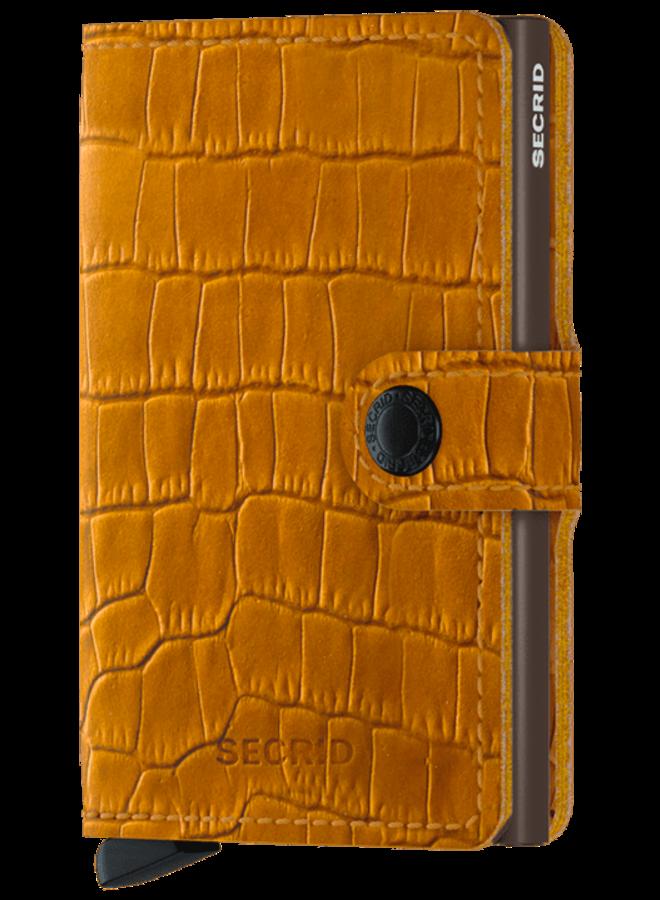 Mini Wallet Cleo Ochre Brown