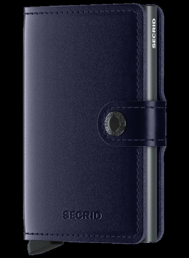 Mini Wallet Metallic Blue