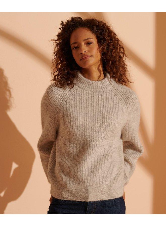 Alpaca Blend Crew Sweater