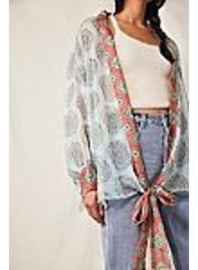 Kantha Shimmer Kimono
