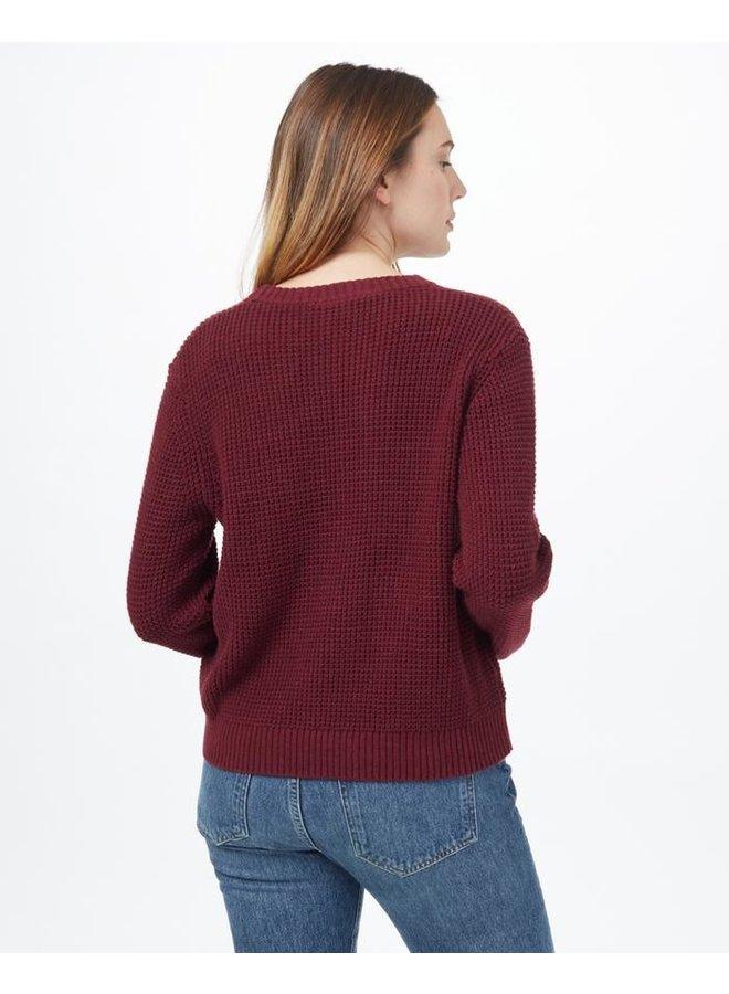 Women's Highline Cotton Crew - Mesa Red