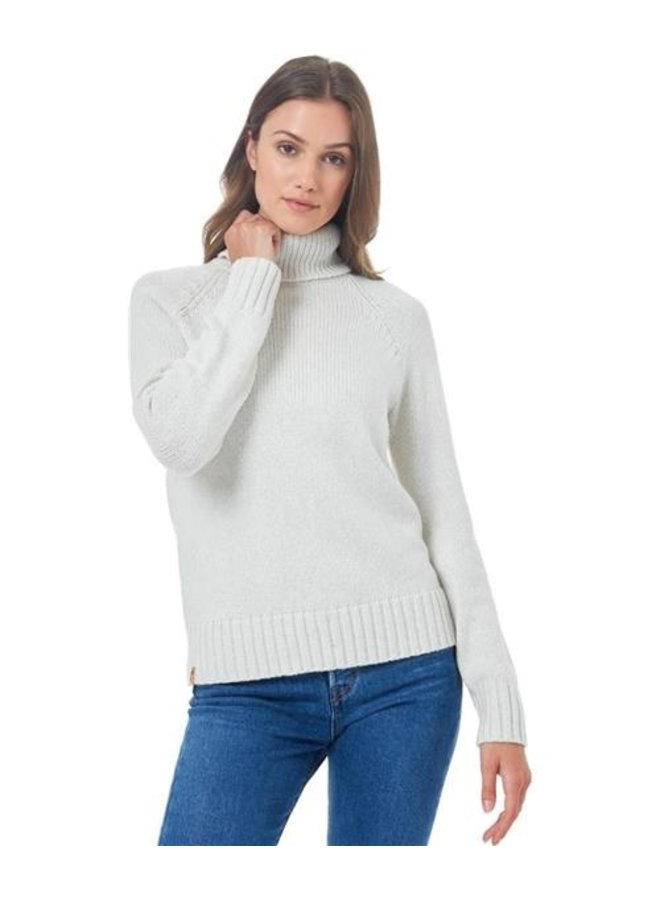 Women's highline Wool T-neck Sweater