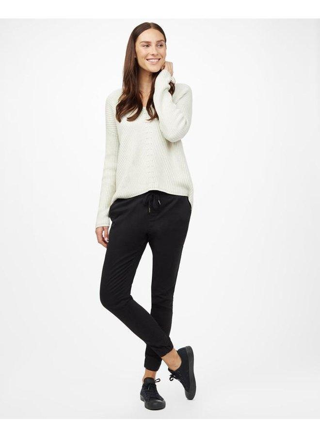 Women's Highline Cotton V-neck Sweater