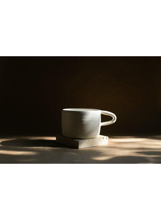 White Coffee Mug