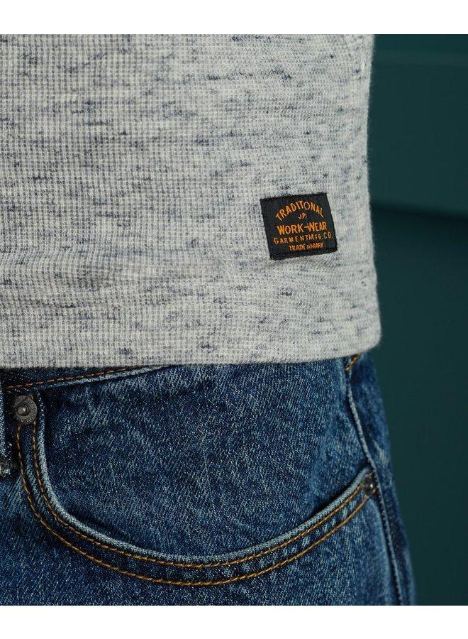 Micro Texture Men's Henley
