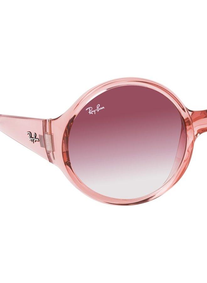 RB4345 Transparent Pink Slim Round