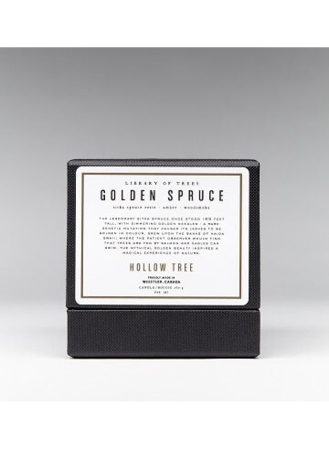 Golden Spruce Candle