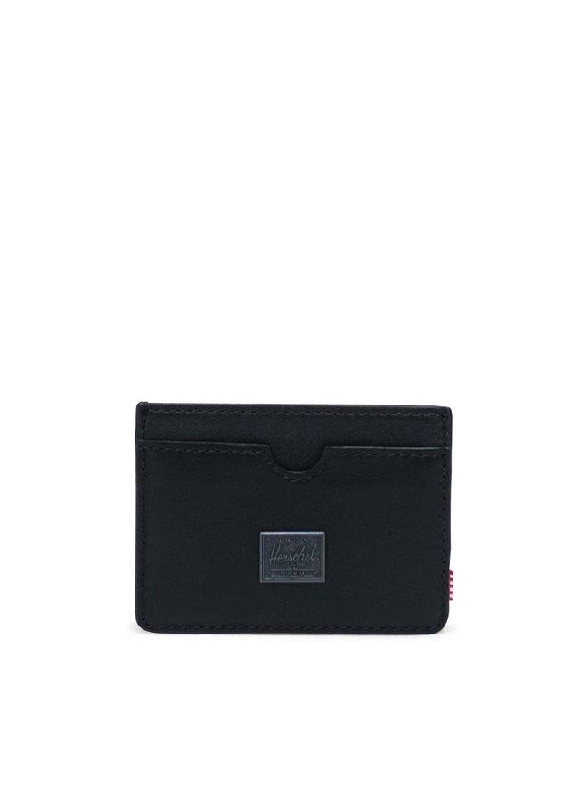 Charlie Leather Black Wallet