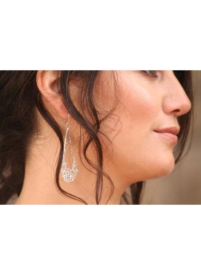 Water Droplet Earrings SS