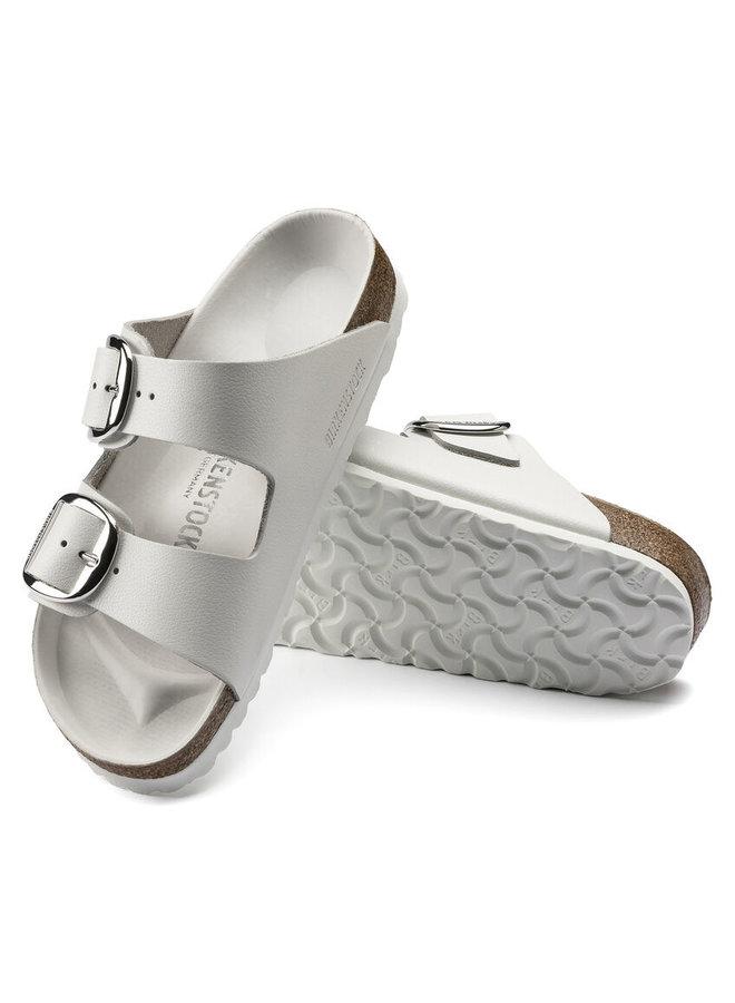 Arizona Big Buckle White Leather