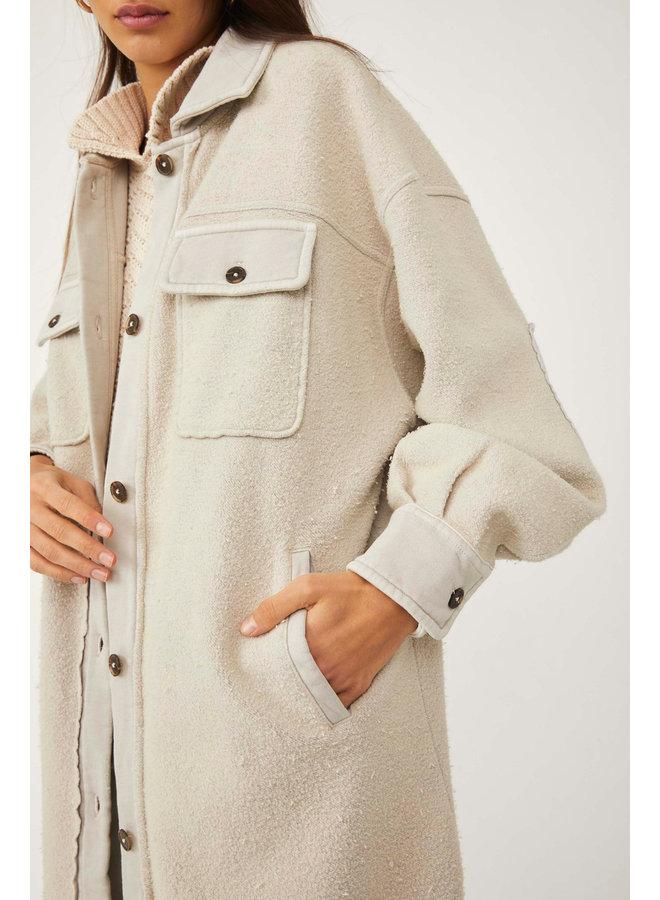 Long Ruby Jacket