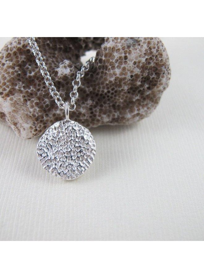 """Tofino Coral Round shape 24"""" necklace"""
