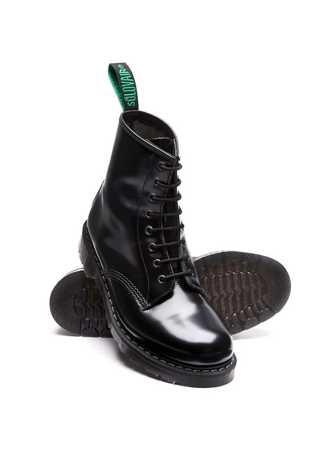 8 Eye Zip Derby Boot