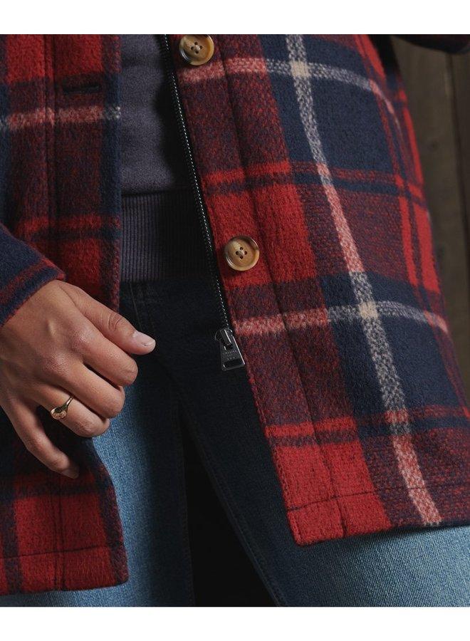 Heritage  Wool Shacket