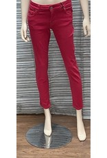 Carreli Carreli High Rise Straight Leg Raspberry