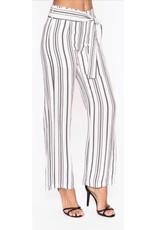 Elena Wang Elena Wang Woven Striped Pant