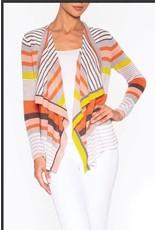Elena Wang Elena Wang Striped Cardigan
