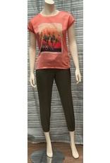 Garcia Garcia Coral Crush Printed T Shirt