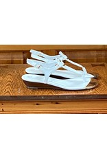 Marc Fisher Marc Fisher White Leather Sandal