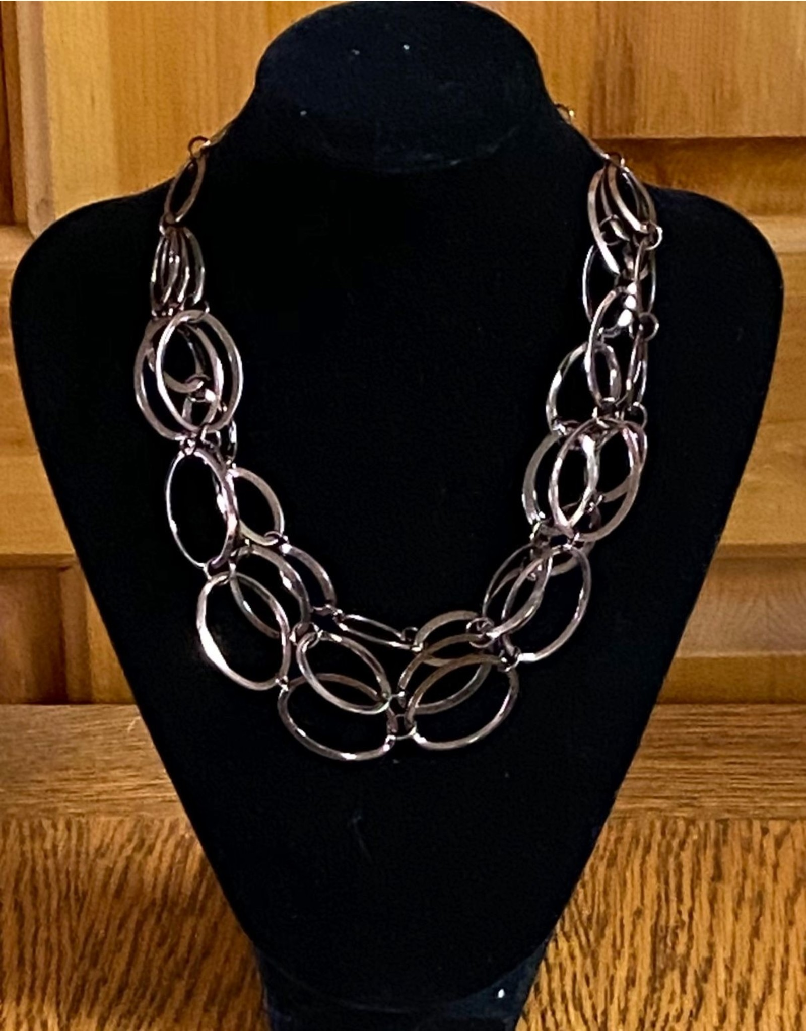 Chocolate Metal Necklace