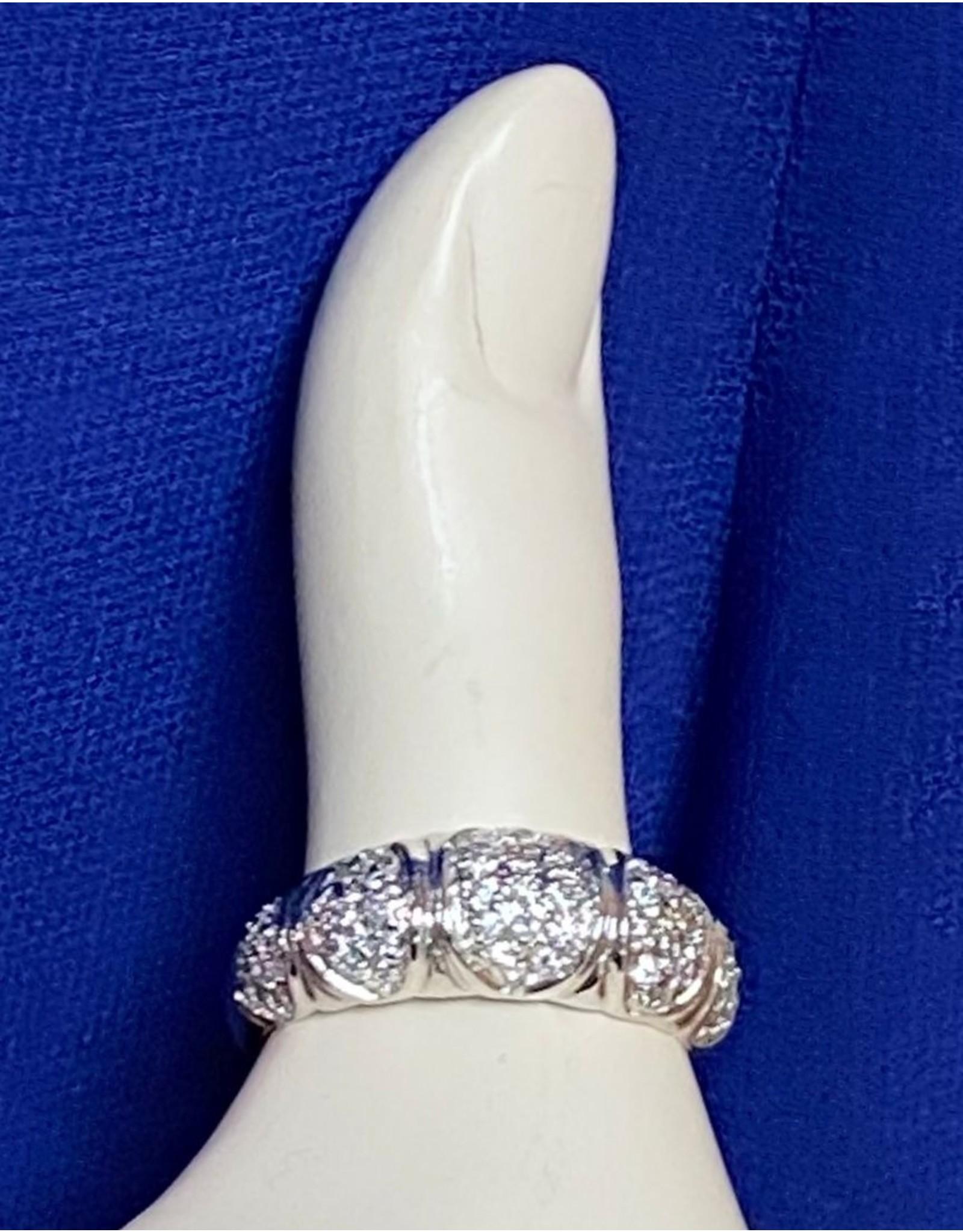 Beveled Fashion Ring