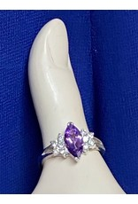 Purple Stone Fashion Ring