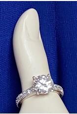 Large Diamond Stone Fahion Ring