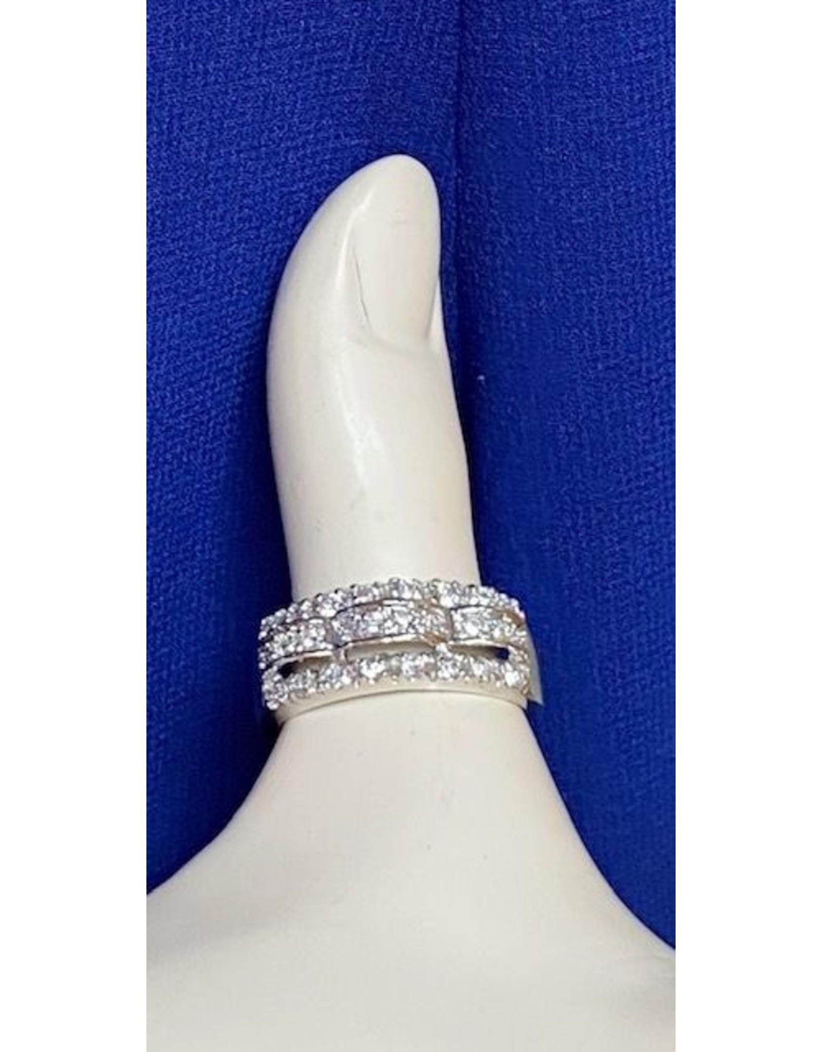 Raised Band Fashion Ring