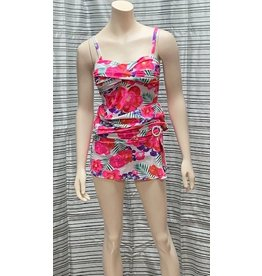 Nass-Eau Beach Wear Floral Tankini Set