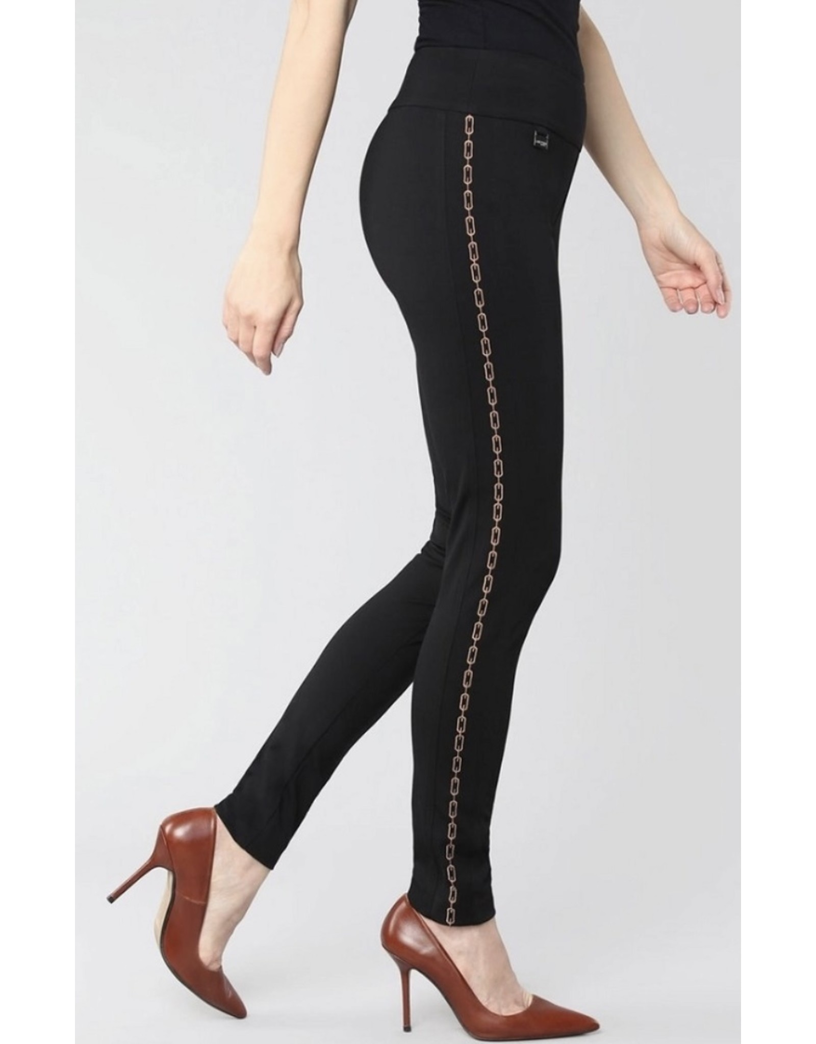 lisette Lisette Pull on Chain Link Embroidery Ankle