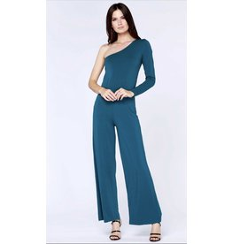 Bobi Los Angeles Bobi Los Angeles One Shoulder Jumpsuit