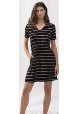 Alison Sheri Alison Sheri V Neck Dress With Tied Waist