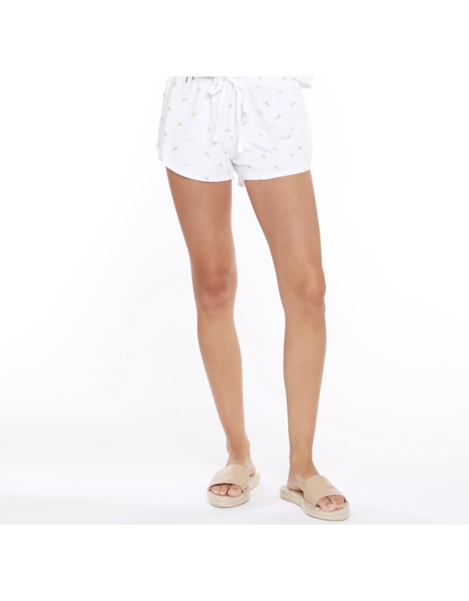 Bobi Los Angeles Bobi Los Angeles Elastic Waist Shorts