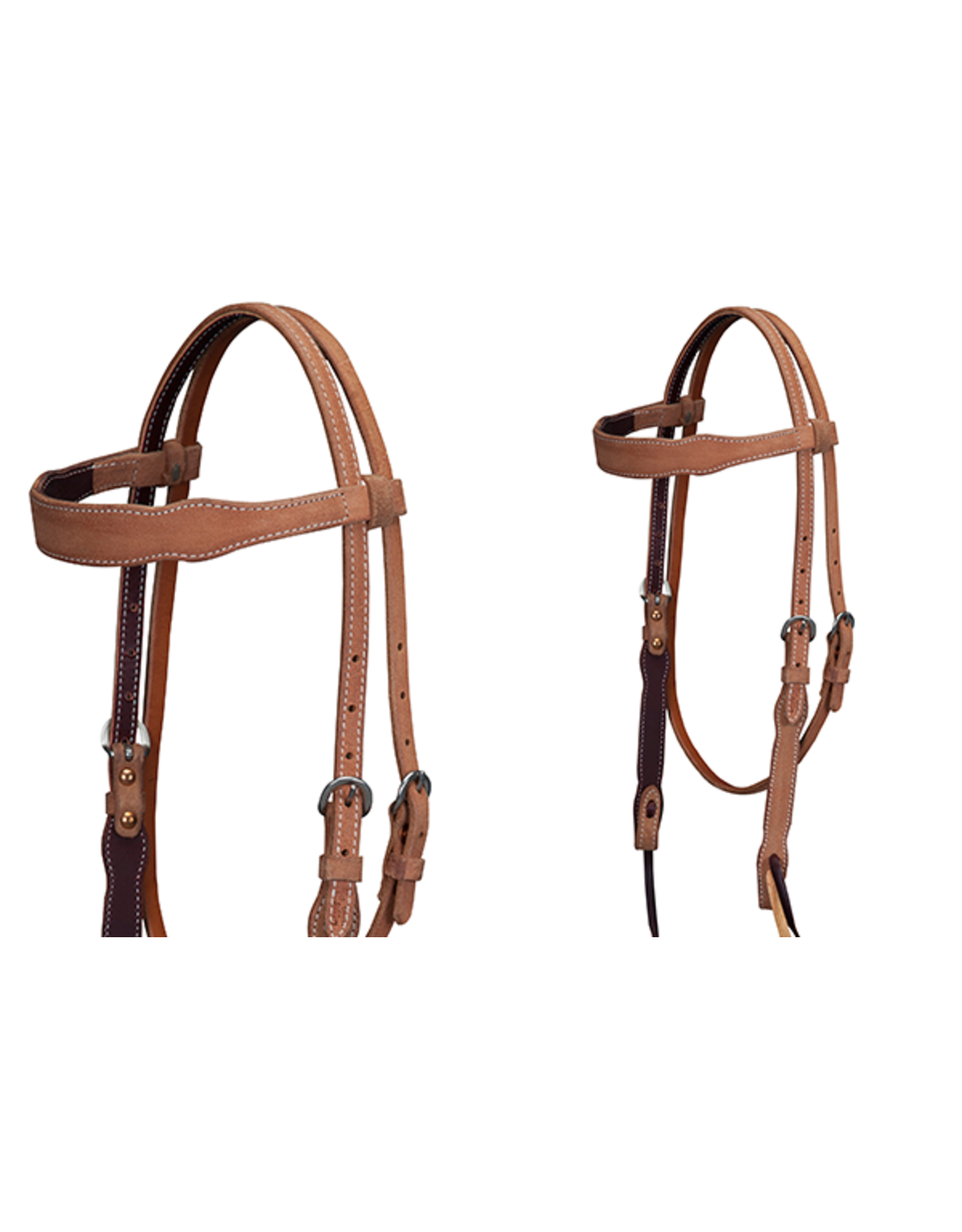 Cactus Roughout Browband Headstall Total Equine Supplies Ltd