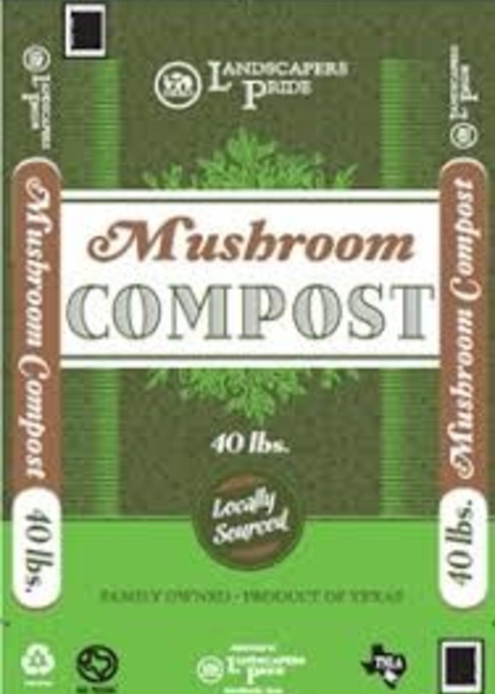 Mushroom Compost 40 lb. $4.99 ea.