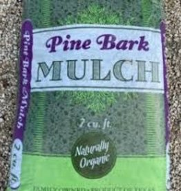 Pine bark Mulch 2 cf. $4.99 ea.