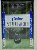 Cedar Mulch 40 lb. $6.99 ea.