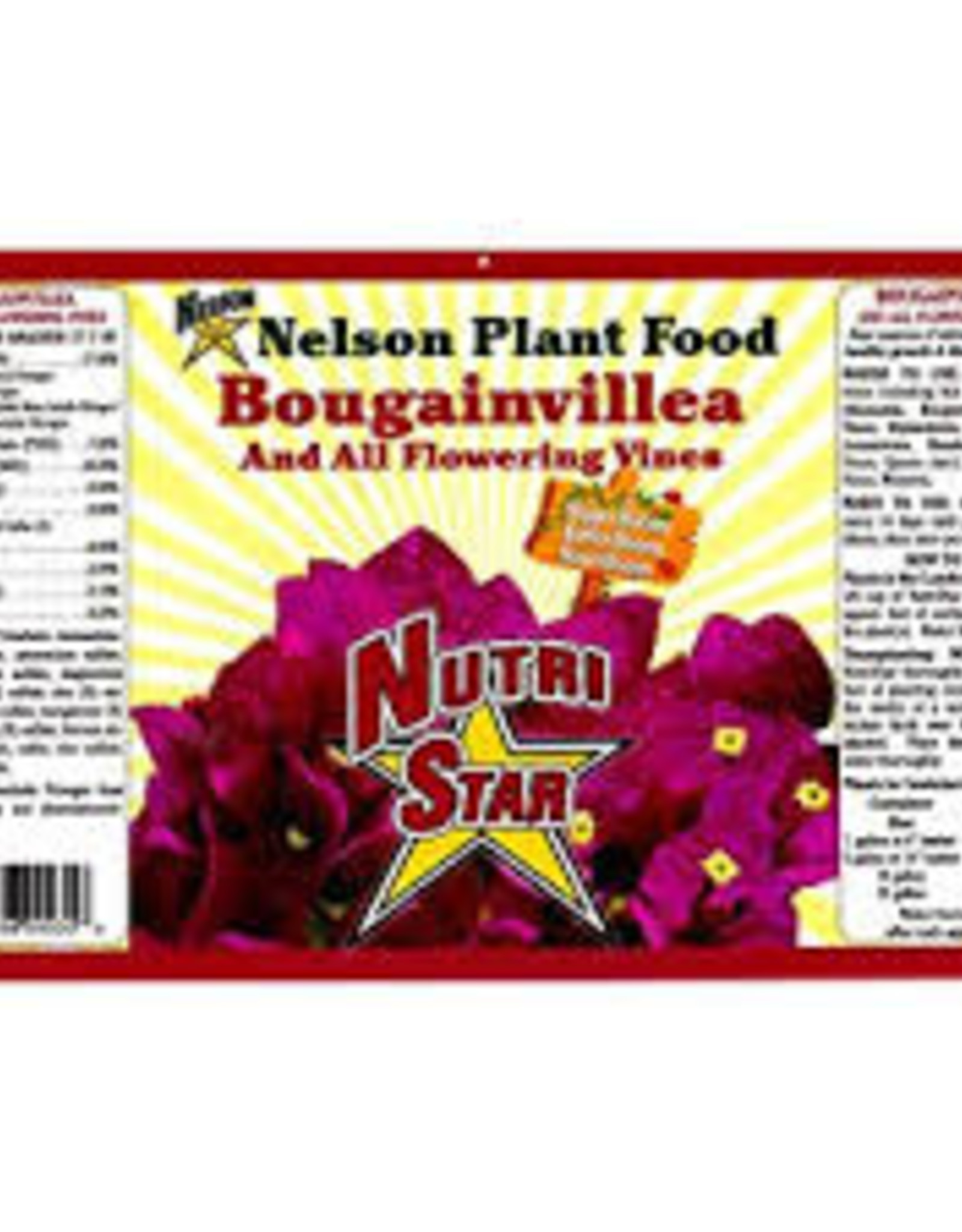 Nelsons Bougainvillea Fertilizer 4lb.