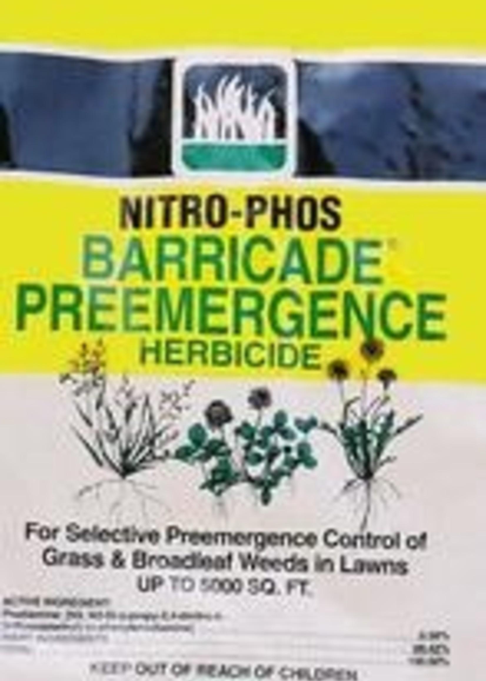 NITRO PHOS BARRICADE 50 lb. 12500 SF coverage