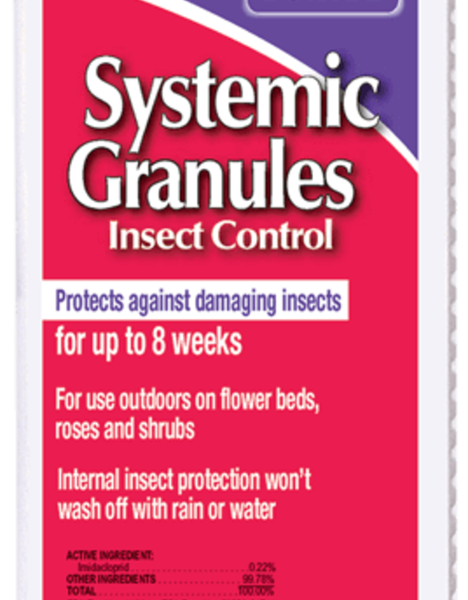 BONIDE Systemic Insect Control Granules 1 lb.