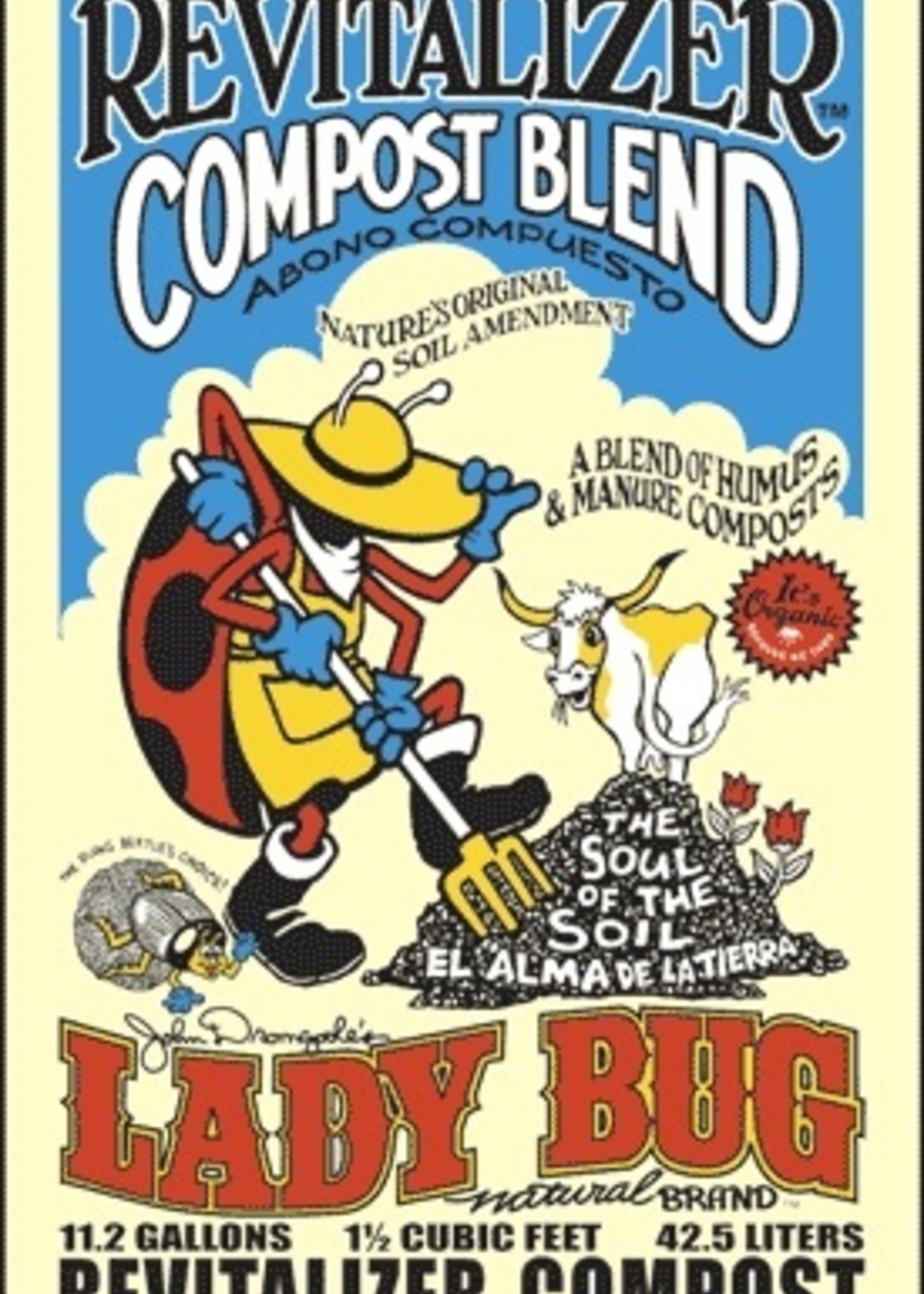 LADY BUG Revitalizer Compost 1.5 CF