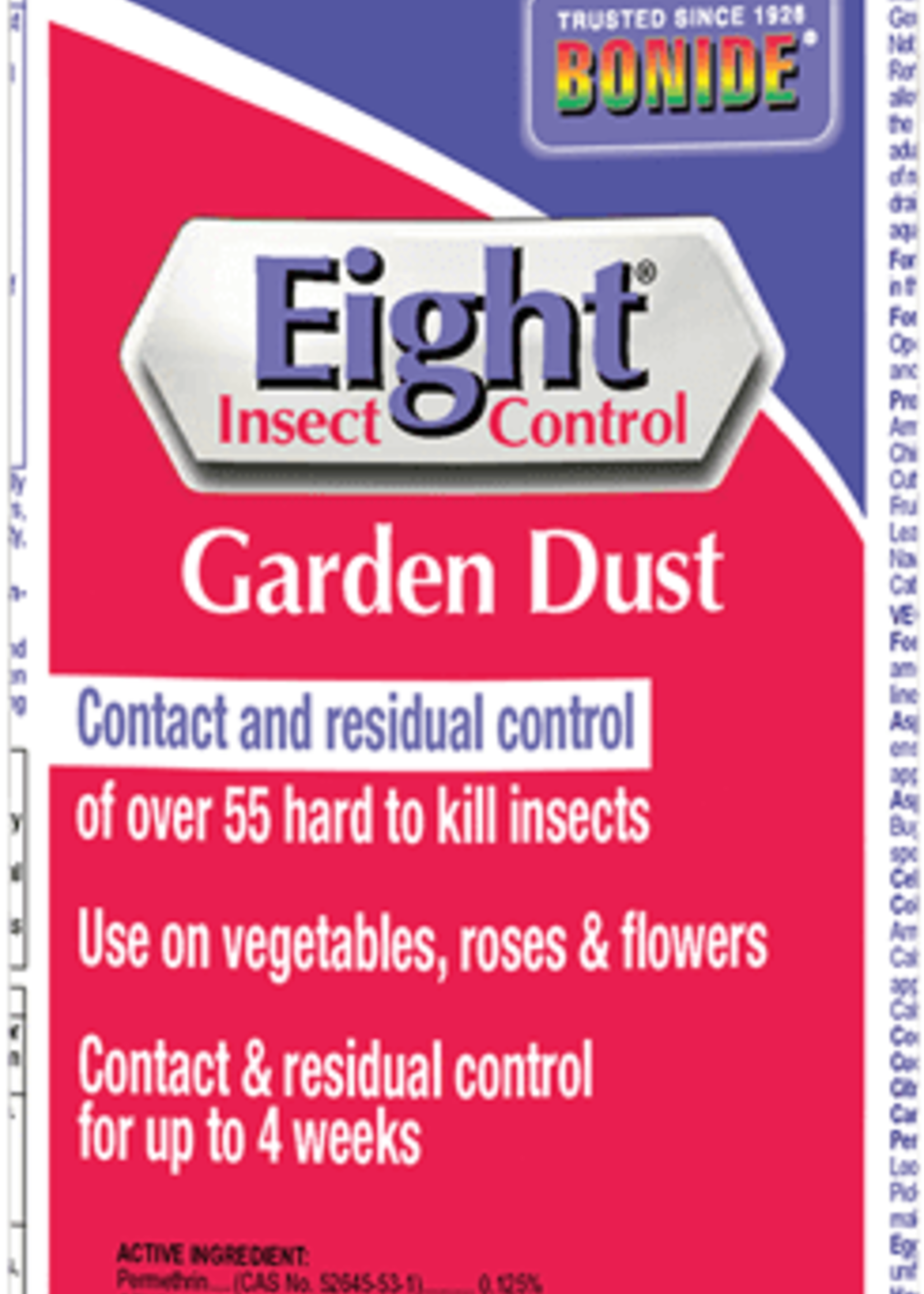 Eight Insect control Garden Dust 10 oz.