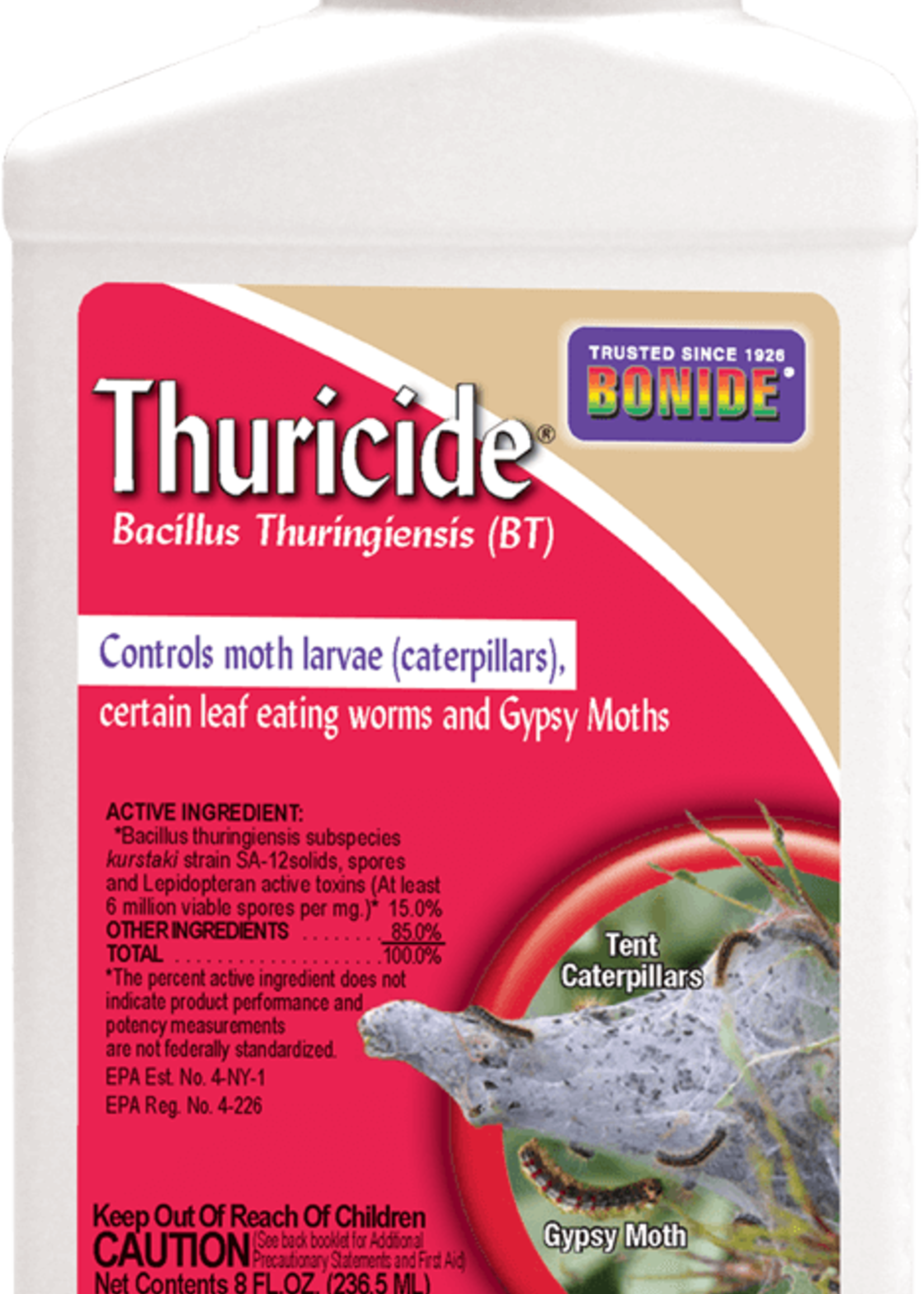 Bonide Thuricide (BT) 15% concentrate 16 oz.