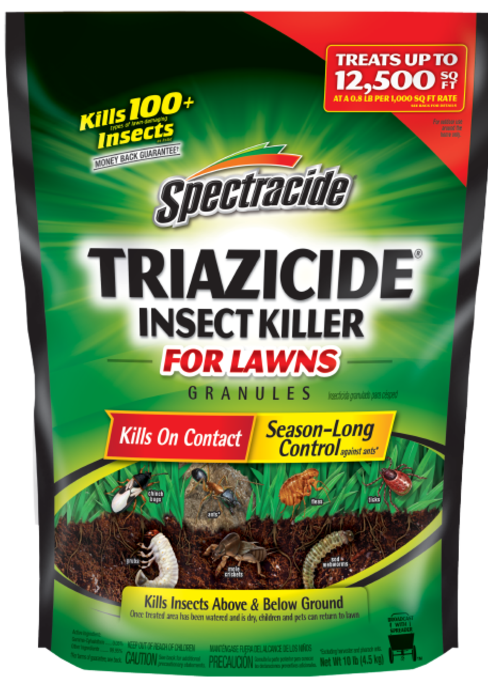 Spectracide Triazicide Insect Killer Granules 10 lbs.