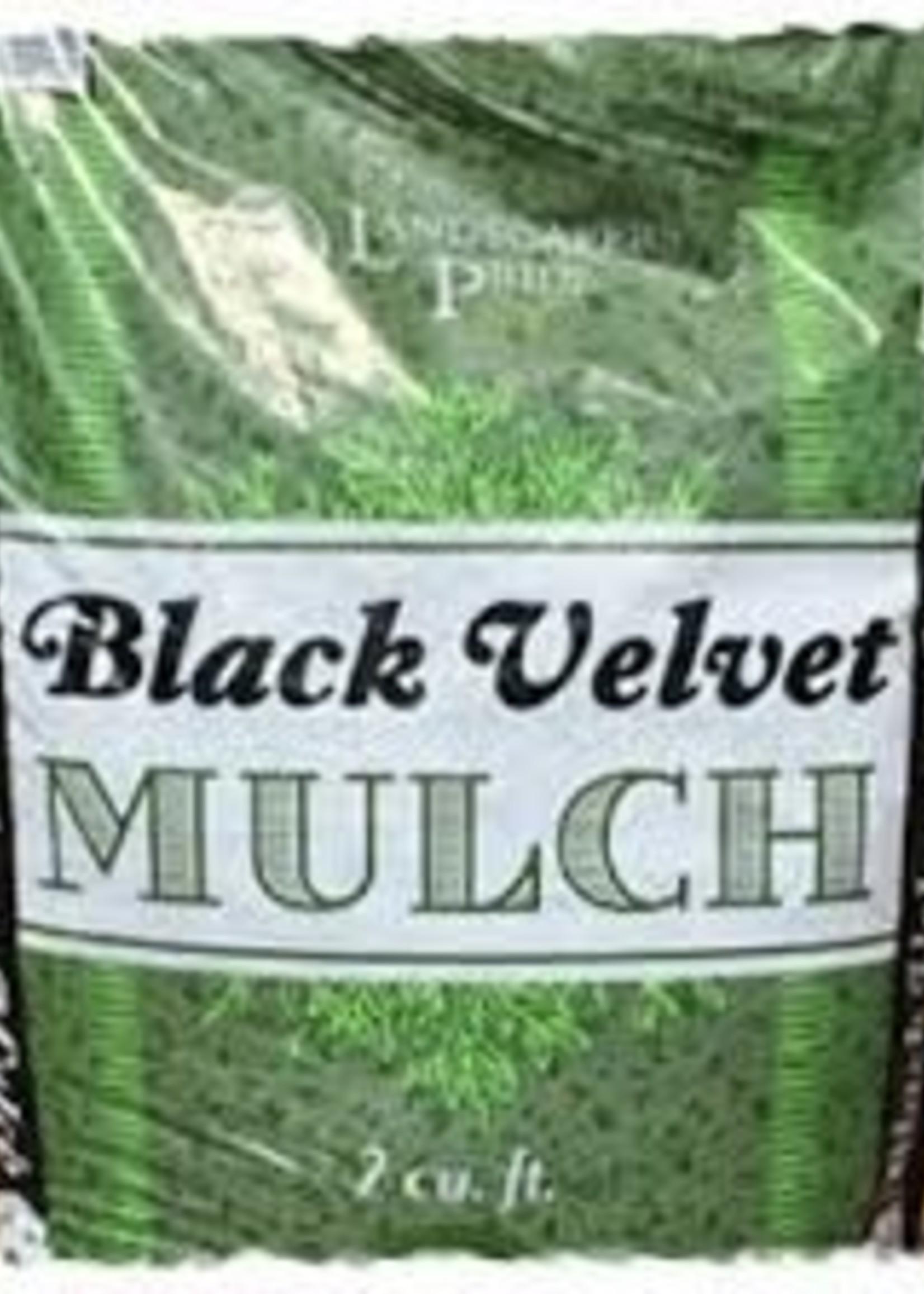 Black Velvet Mulch 2 cf. $4.99 ea.