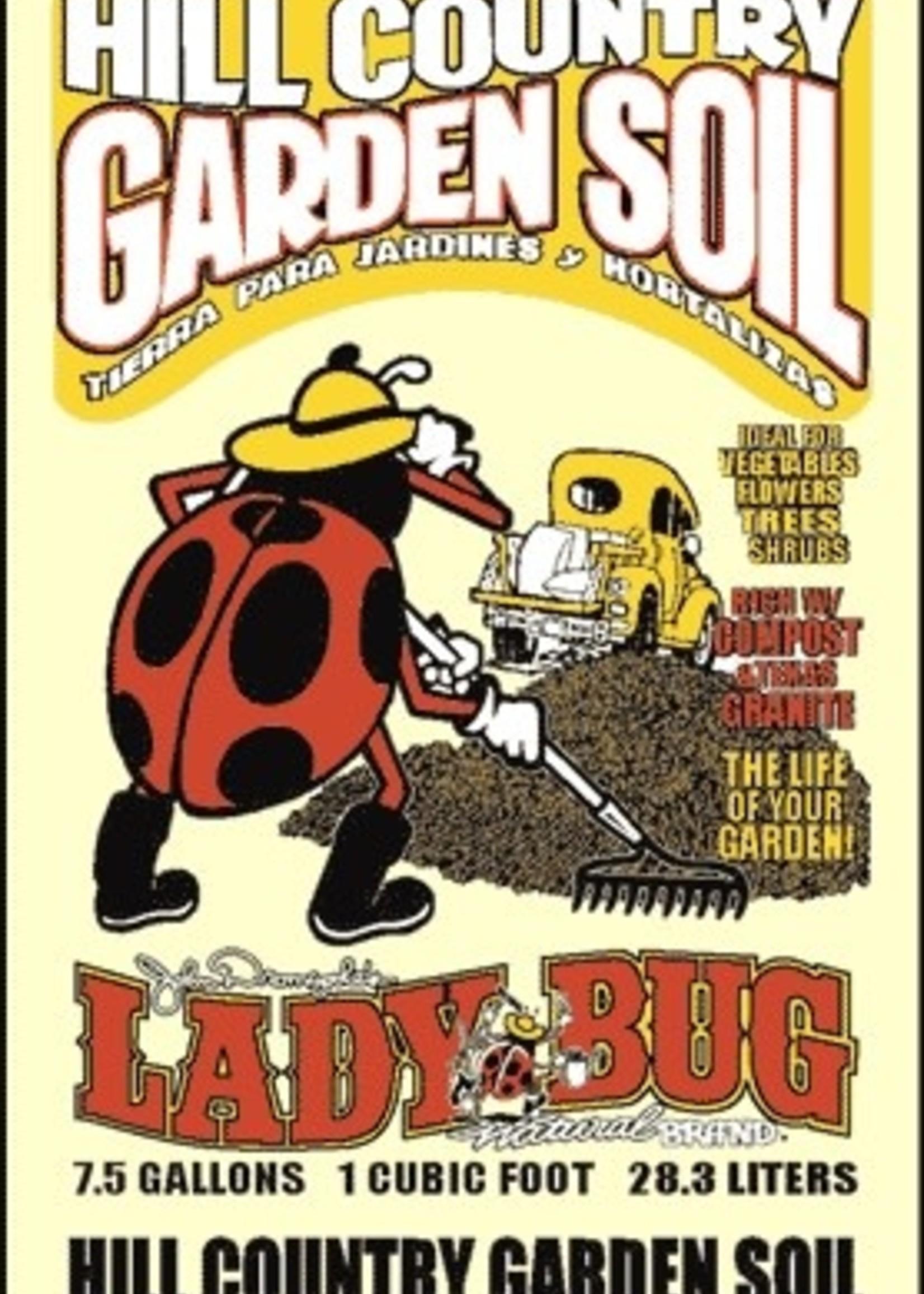 LADY BUG, Hill Country Garden Soil 1 cf